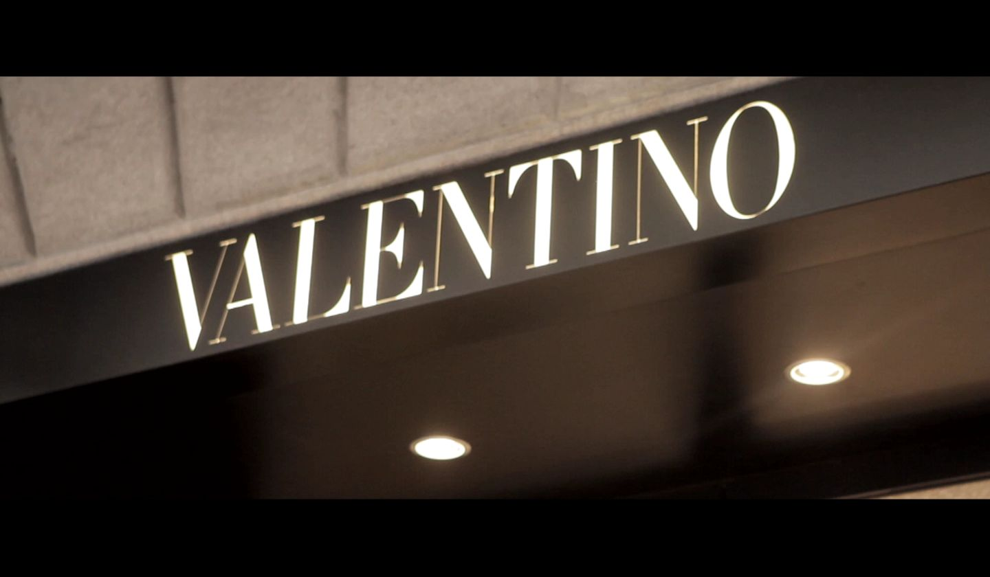 Valentino The New Flag Ship Store In Via Montenapoleone