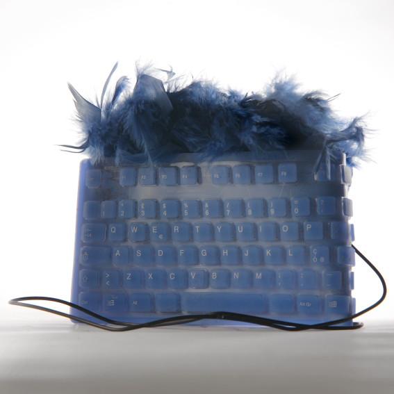 PVC KEYBOARD BAG COCCODRIVE BY CHIARA CATALANO