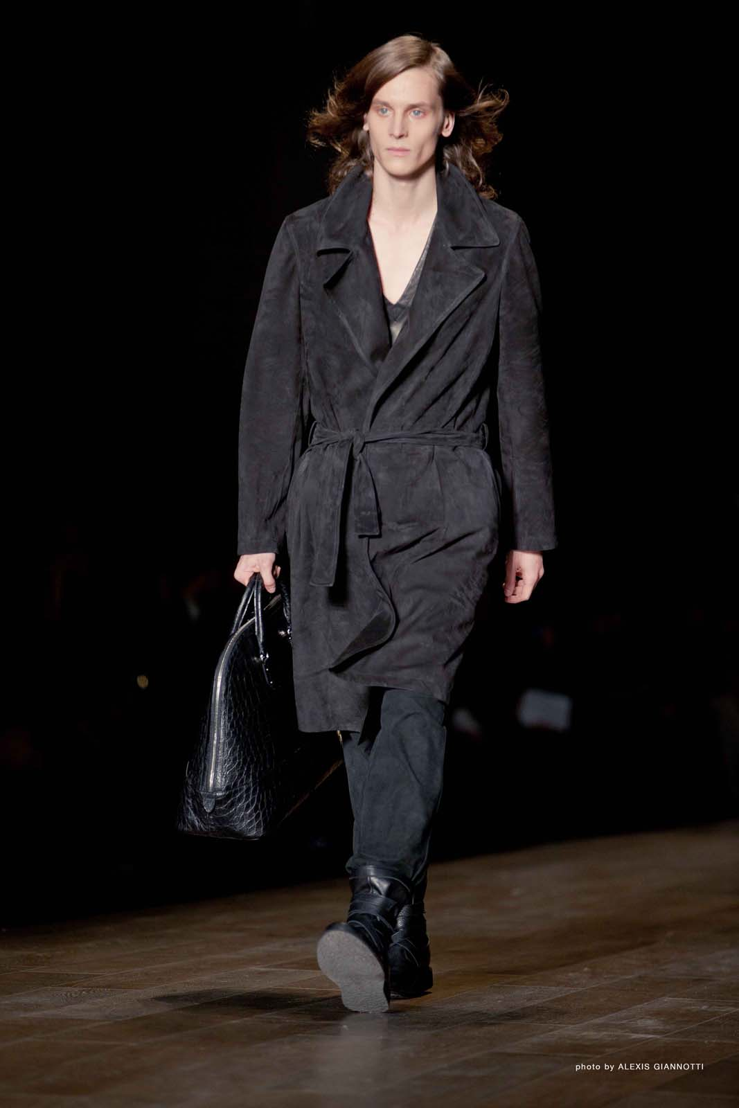 Trussardi 1911 Men's Collection Fall Winter 2011-2012 - Pitti