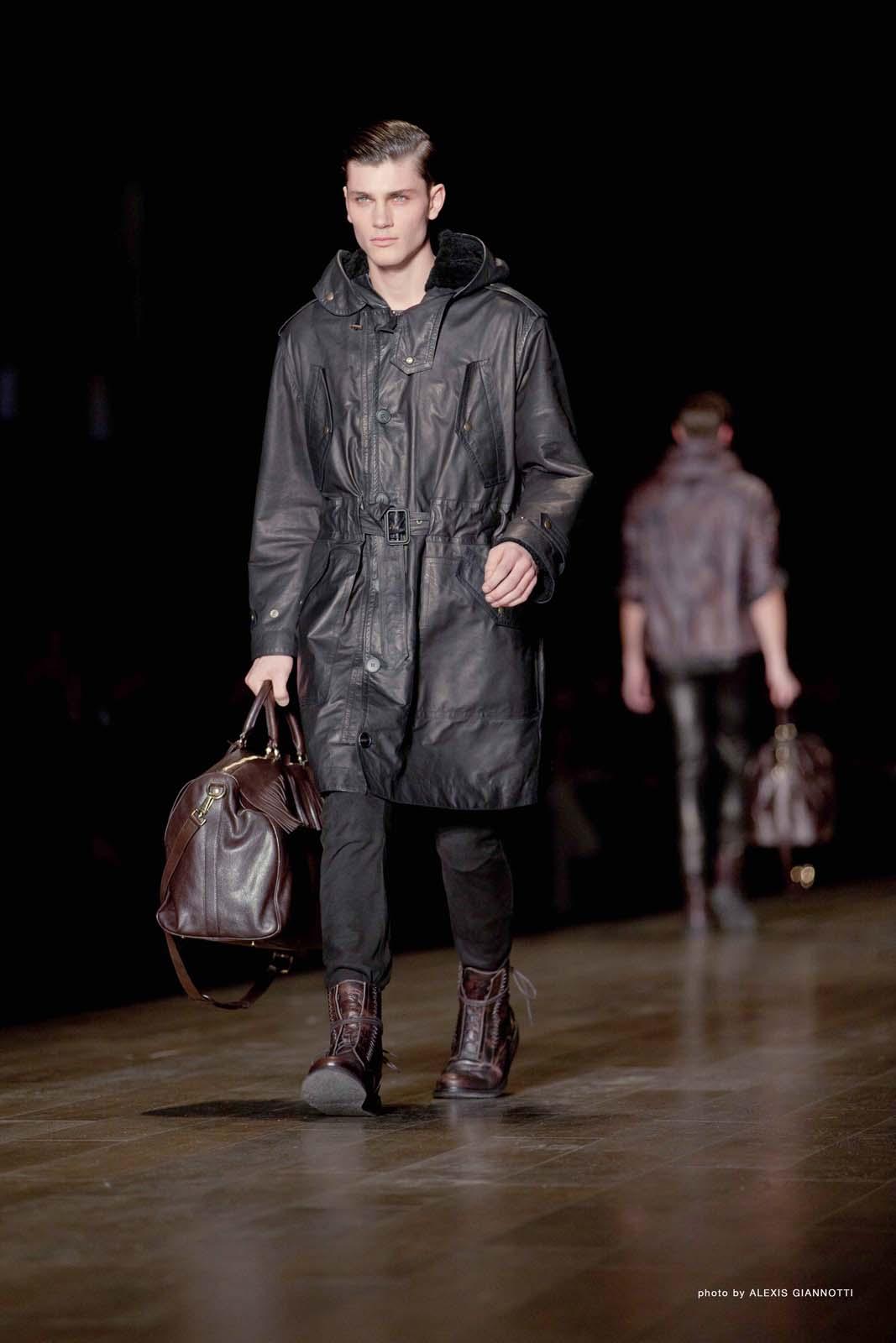 Trussardi 1911 Men's Collection Fall Winter 2011-2012 - Pitti