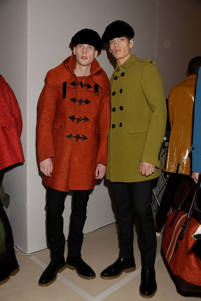 Milano Fashion Week Burberry Prorsum Fall Winter 2011-2012