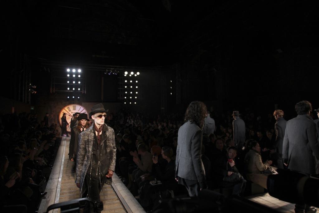 Milano Fashion Week John Varvatos Fall Winter 2011- 2012