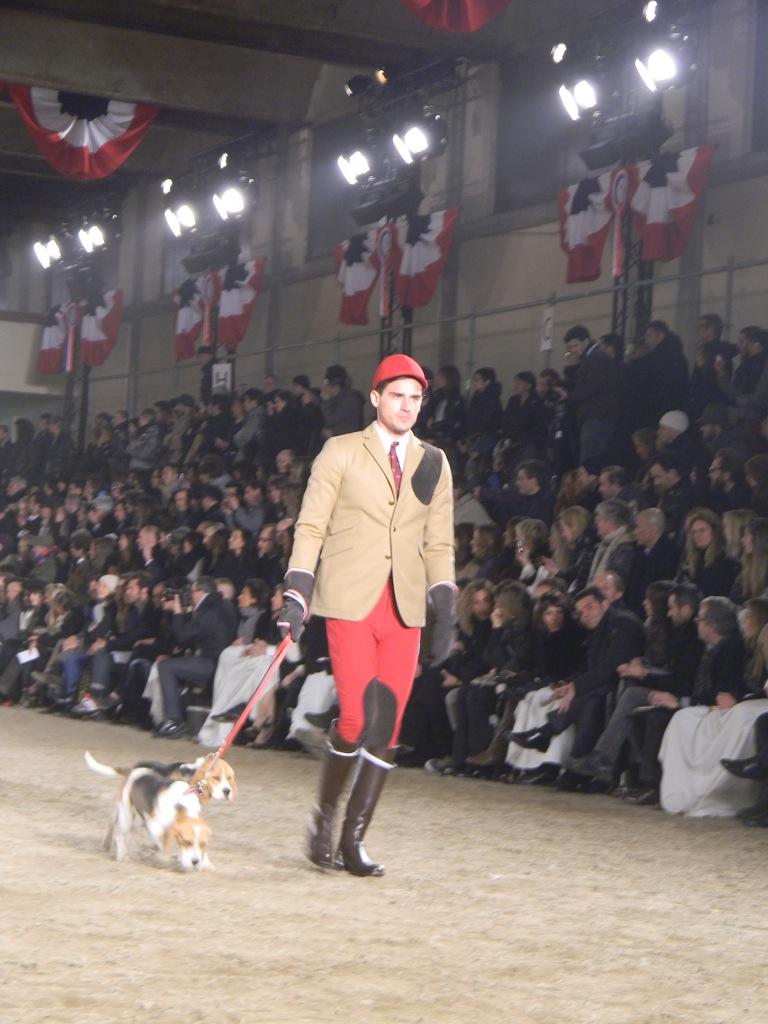 Milano Fashion Week Moncler Gamme Bleu Fall Winter 2011-12