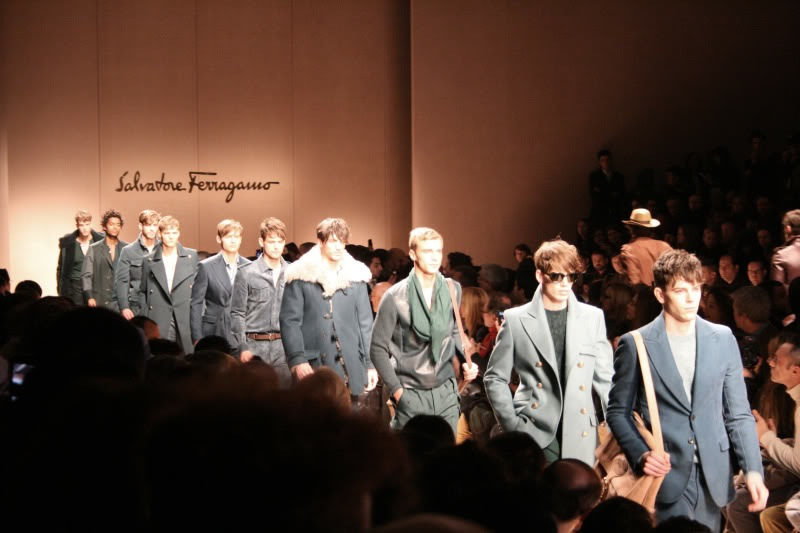 Milano Fashion Week Salvatore Ferragamo Fall Winter 2011-2012