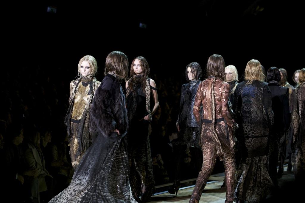 Roberto Cavalli Fall Winter Woman 2011-12 Milano Fashion Week