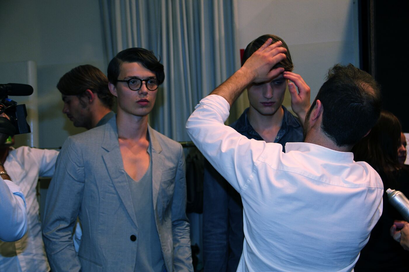 iceberg-backstage-spring-summer-2012-milano-fashion-week