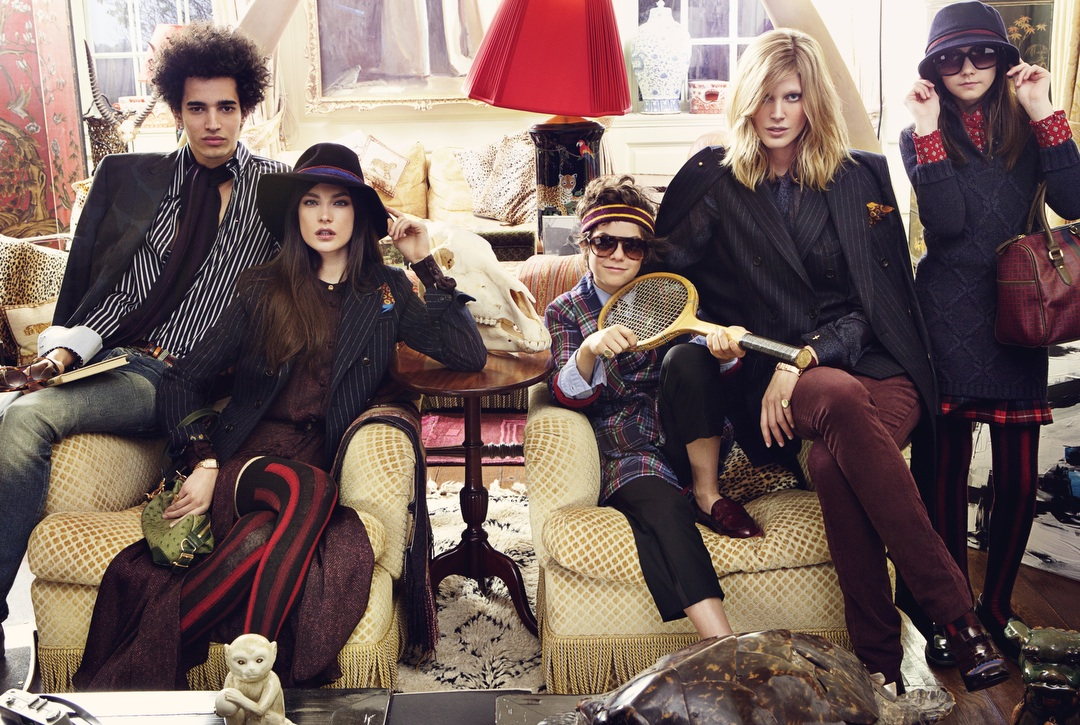 TOMMY HILFIGER FALL WINTER 2011 AD CAMPAIGN