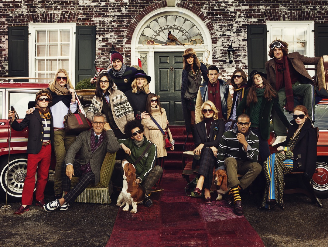 TOMMY HILFIGER FAMILY FALL WINTER 2011 AD CAMPAIGN
