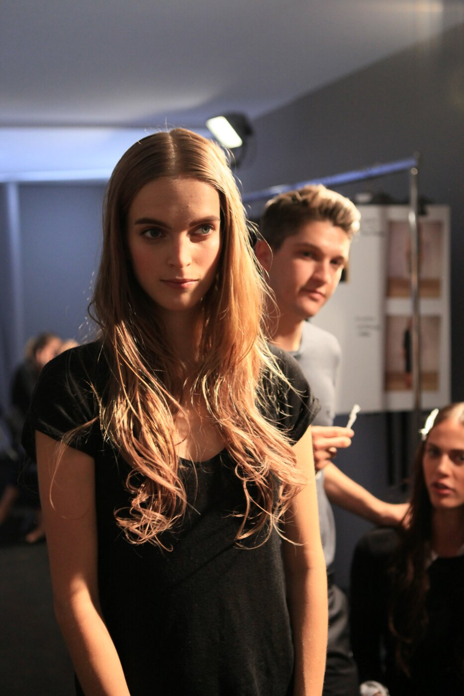 Backstage Alberta Ferretti Spring Summer Women 2012
