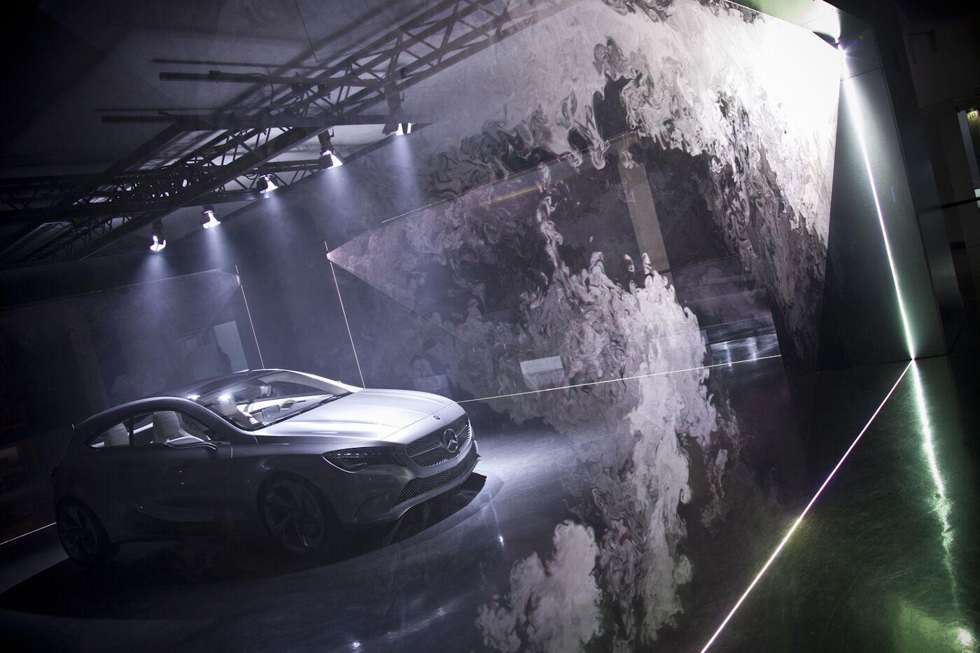 Concept A-Class Installation Mercedes-Benz