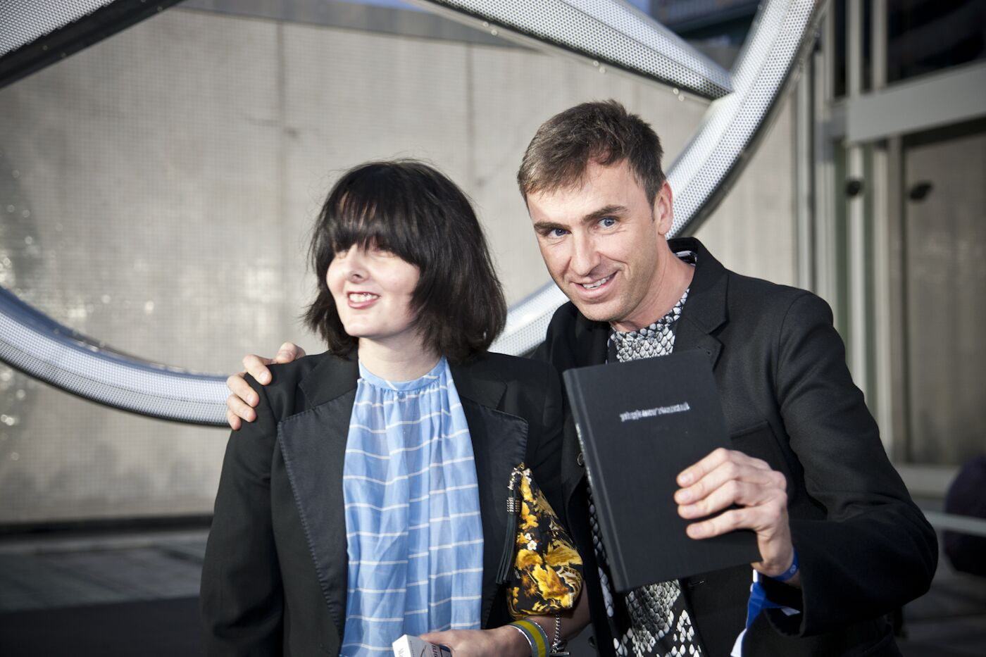 Jo-Ann Furniss & Raf Simons