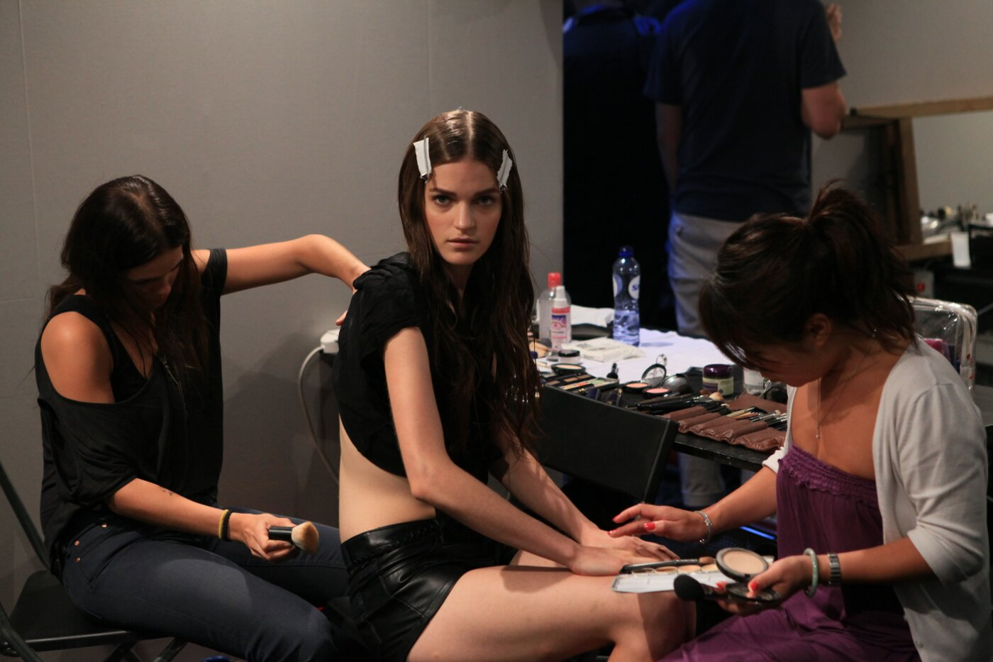 Backstage Alberta Ferretti Women