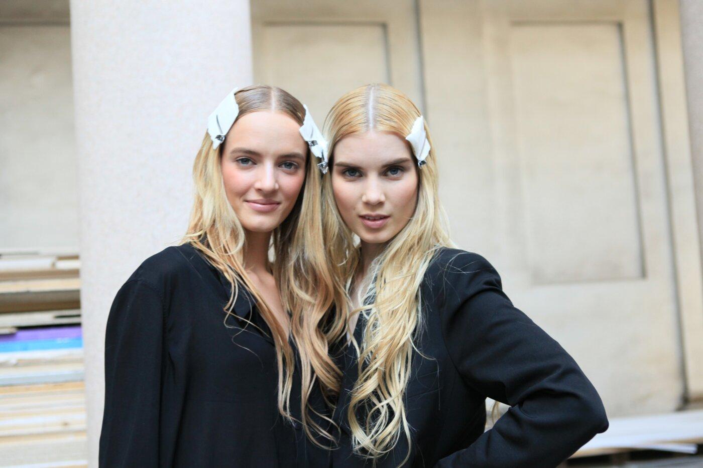 Backstage Alberta Ferretti Spring Summer 2012 Women Fashion Show