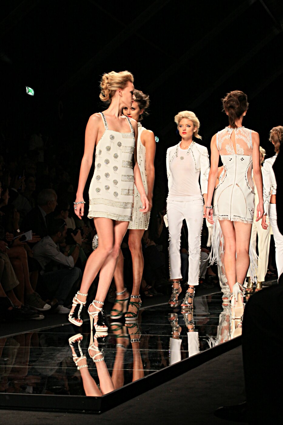 John Richmond Spring Summer 2012 Women Fashion Show Catwalk
