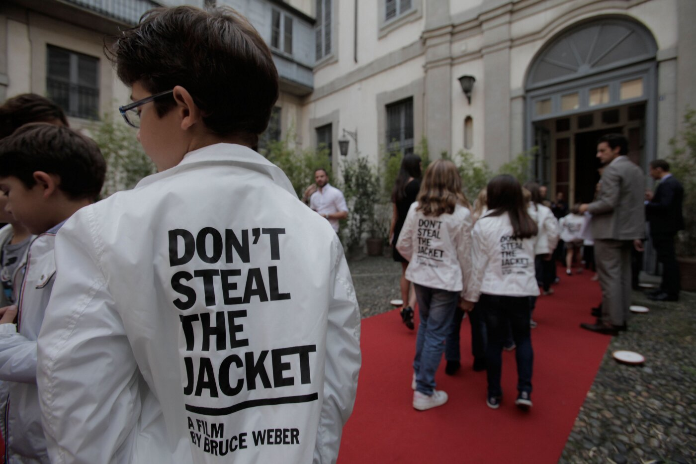 DON'T STEAL THE JACKET BY BRUCE WEBER