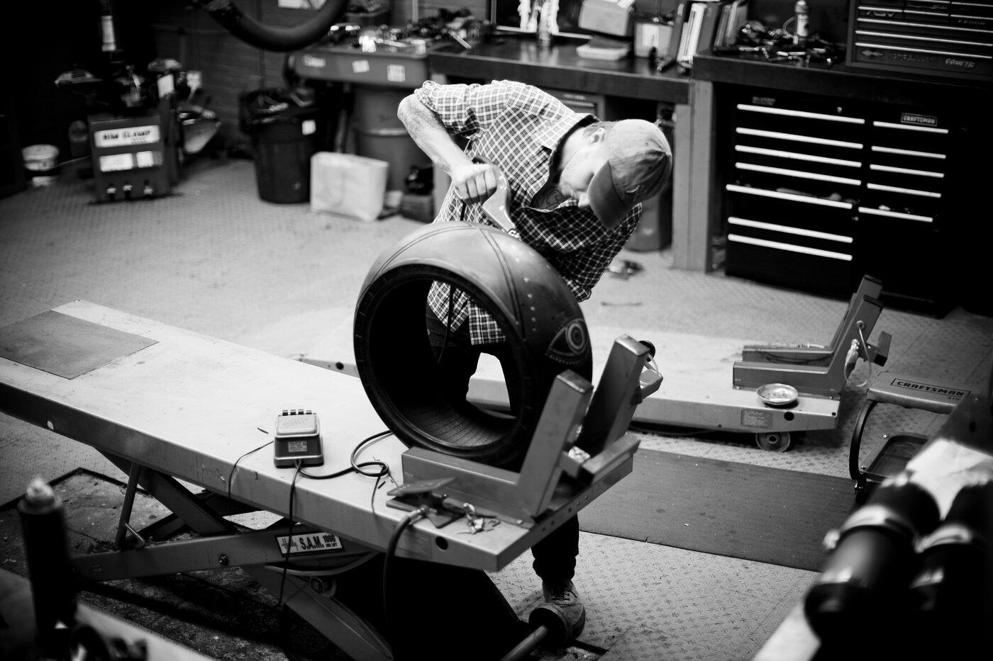 Scott Campbell - Tyred Tattoo Pirelli