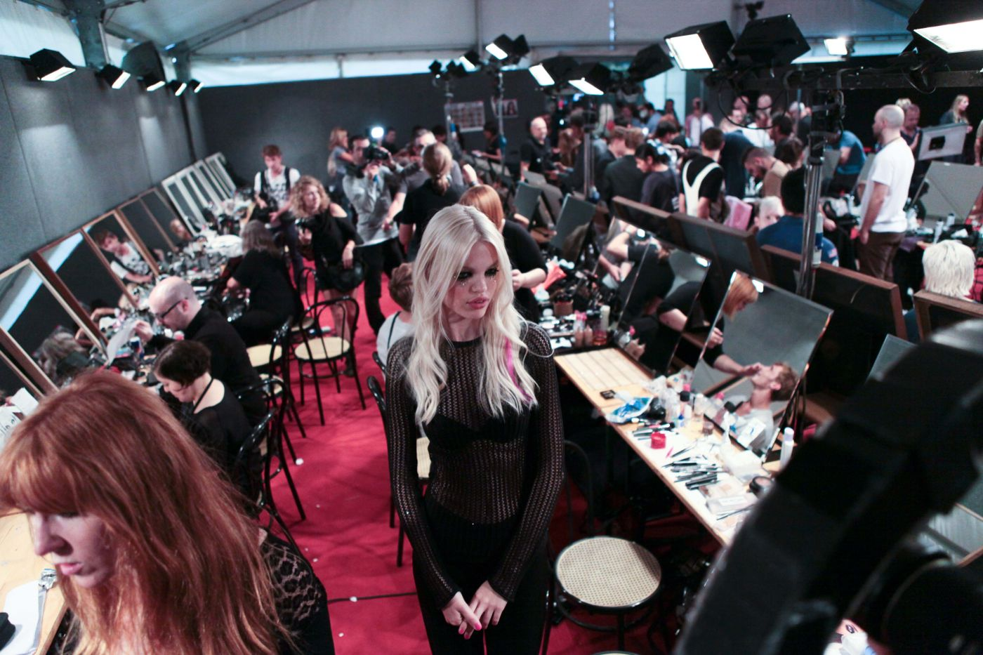 Backstage Dsquared2 SS 2012 Women