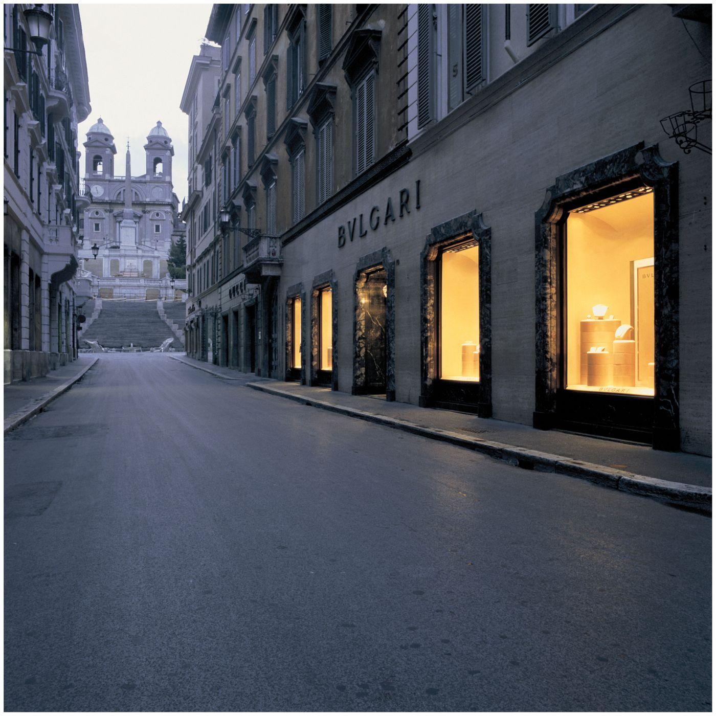 Bulgari Boutique Via Condotti - Les Journées Particulières