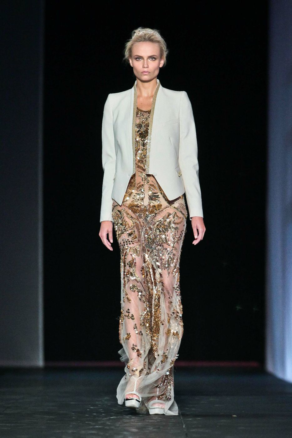 Catwalk Roberto Cavalli Spring Summer 2012 Women Fashion Show
