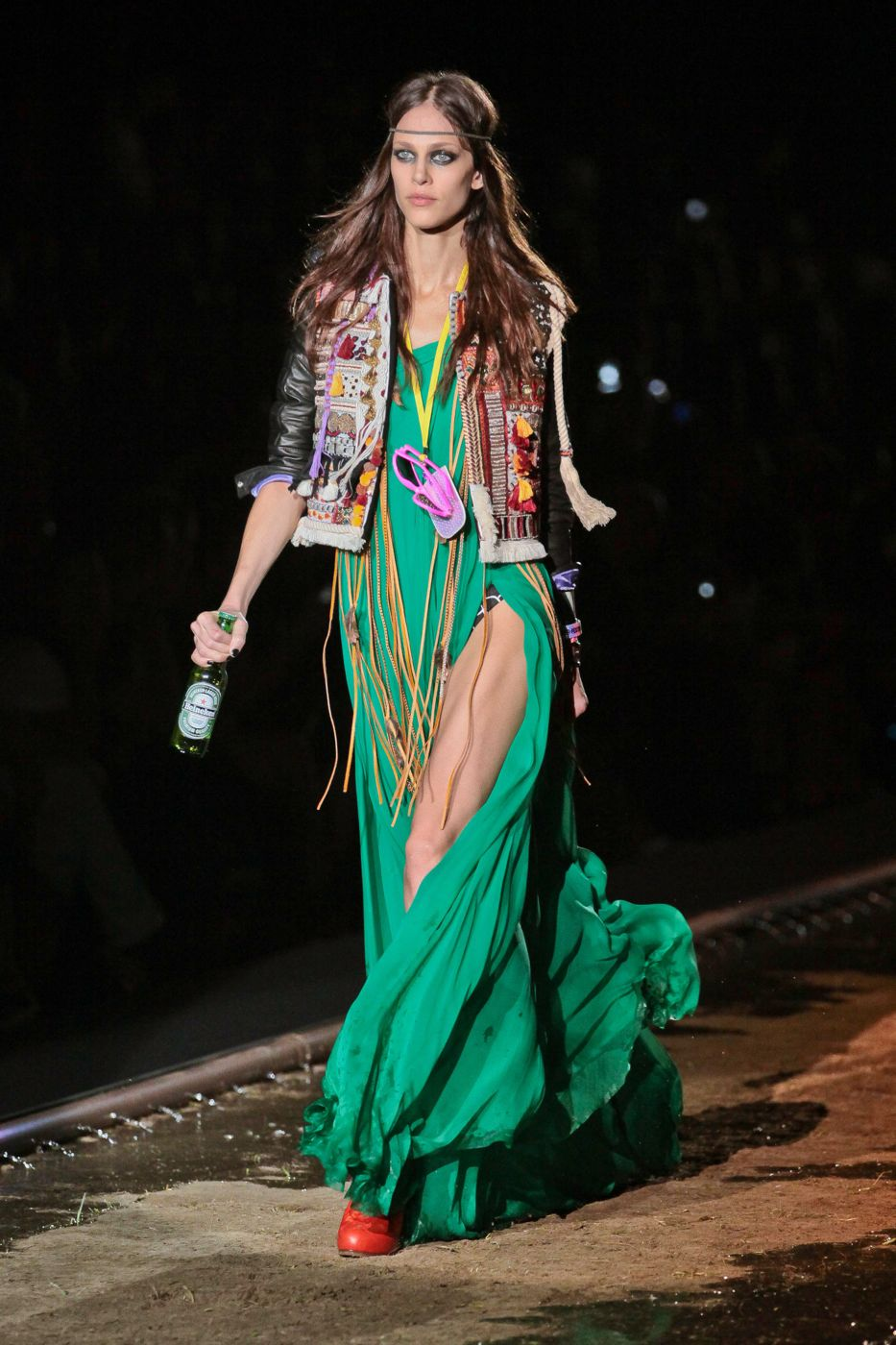 Dsquared2 Spring Summer 2012 Women - Fashion-Show - Catwalk