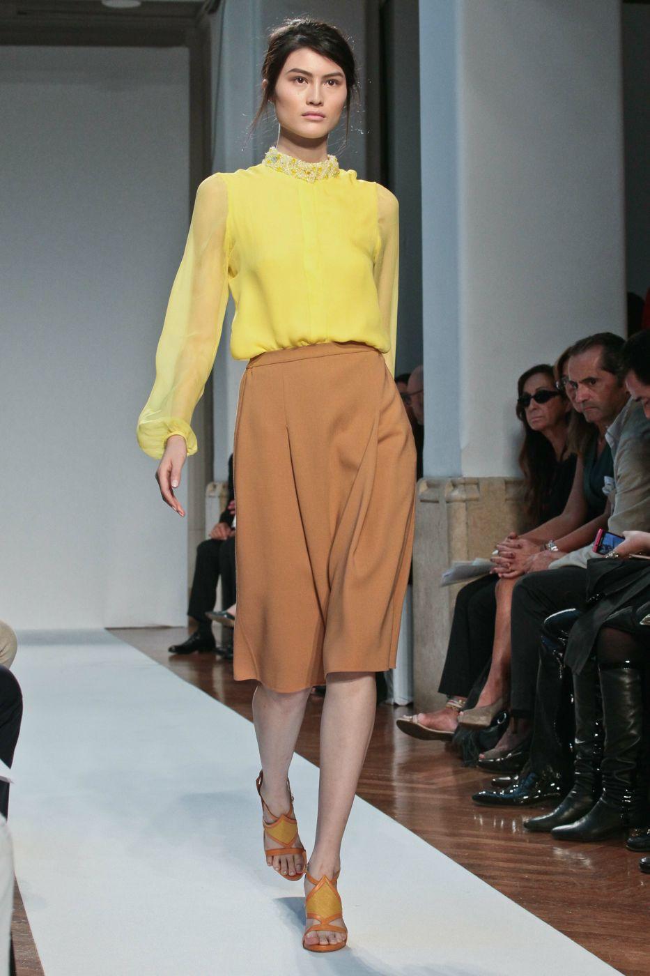 Mila Schon S/S 2012 - Milano Fashion Week