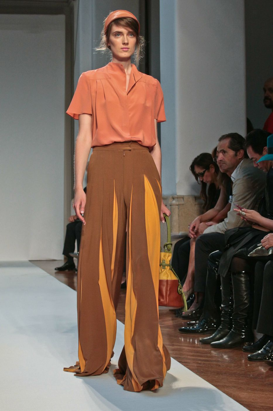 Mila Schon Spring Summer 2012 Women Fashion Show Catwalk