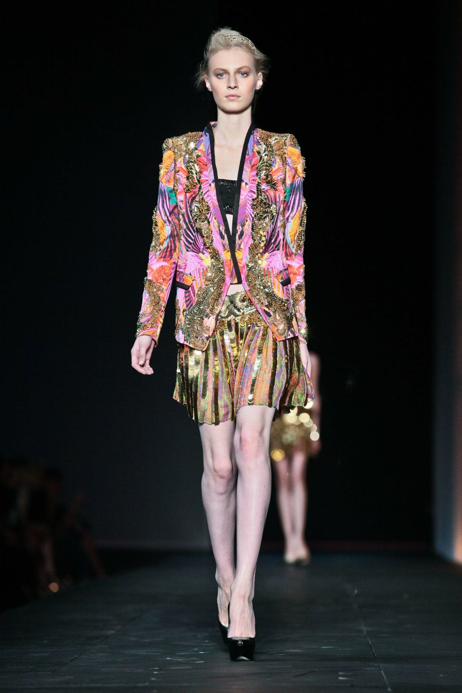 Roberto Cavalli Spring Summer 2012 Women Fashion Show Catwalk