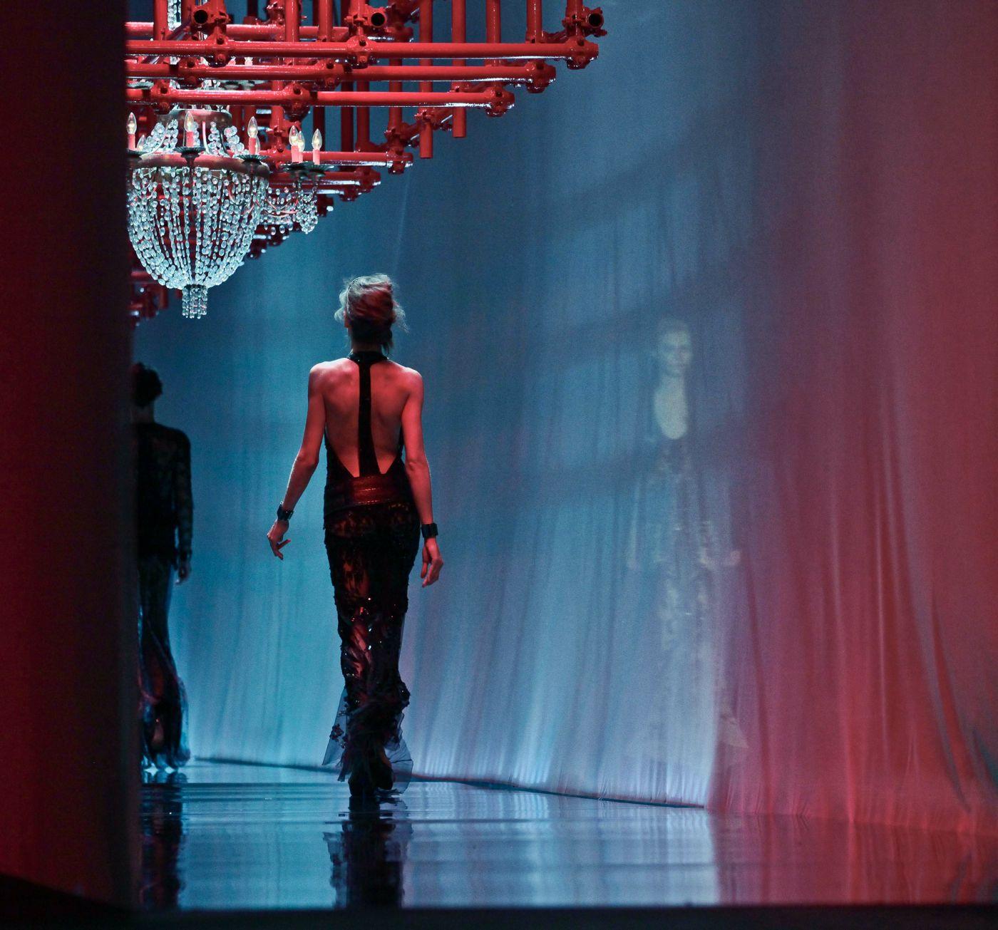 Roberto Cavalli Spring Summer 2012 Women Fashion Show Catwalk