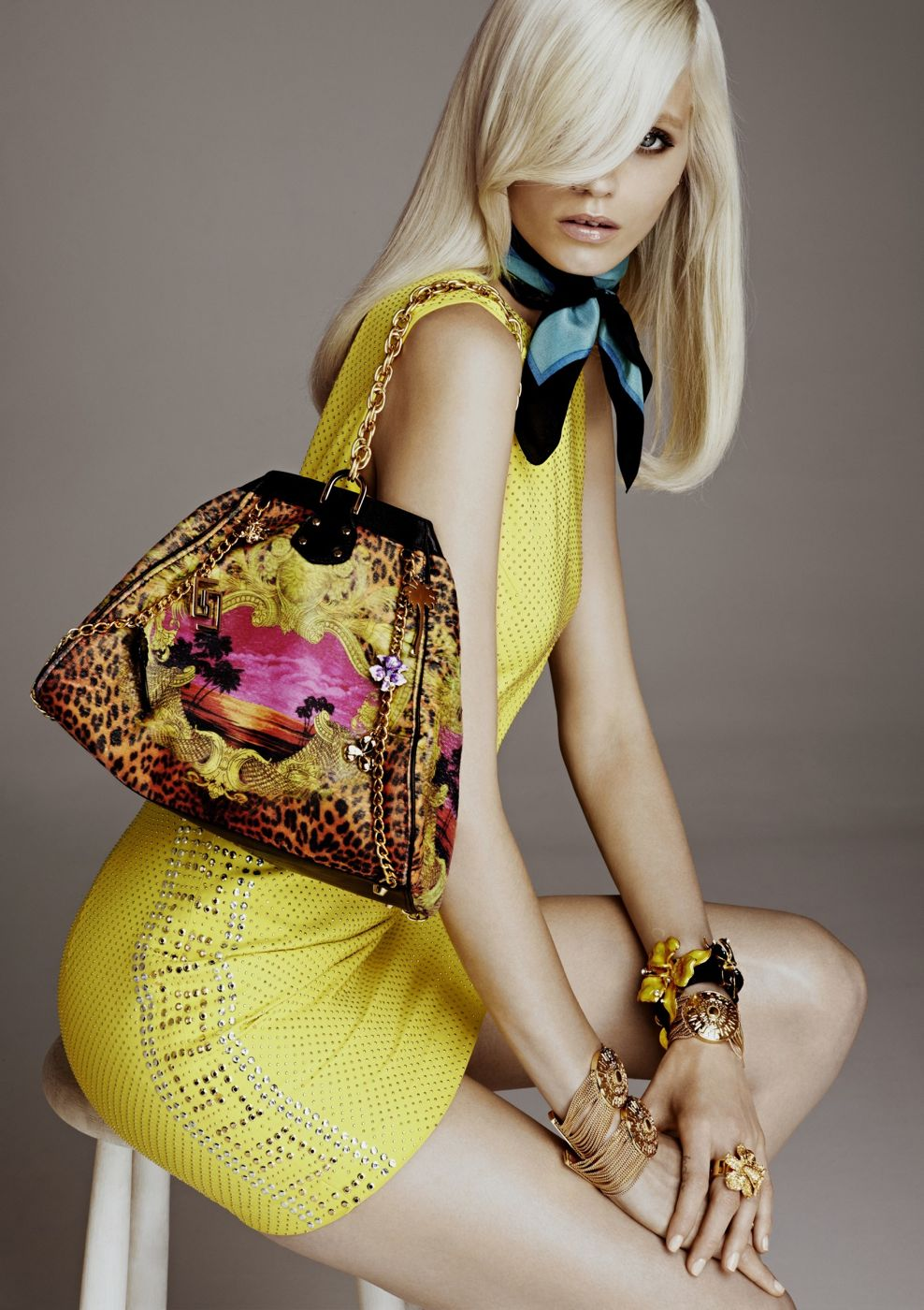 Versace's collection for H&M