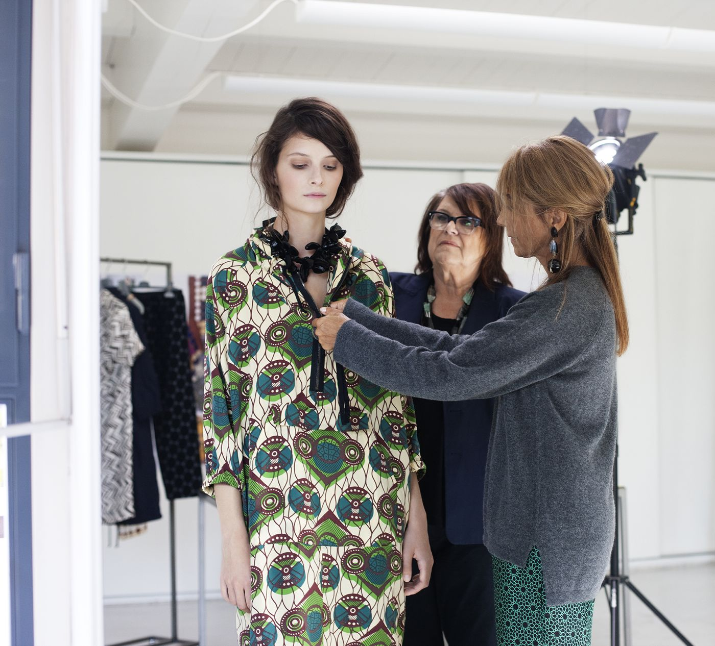 Marni for H&M Working process