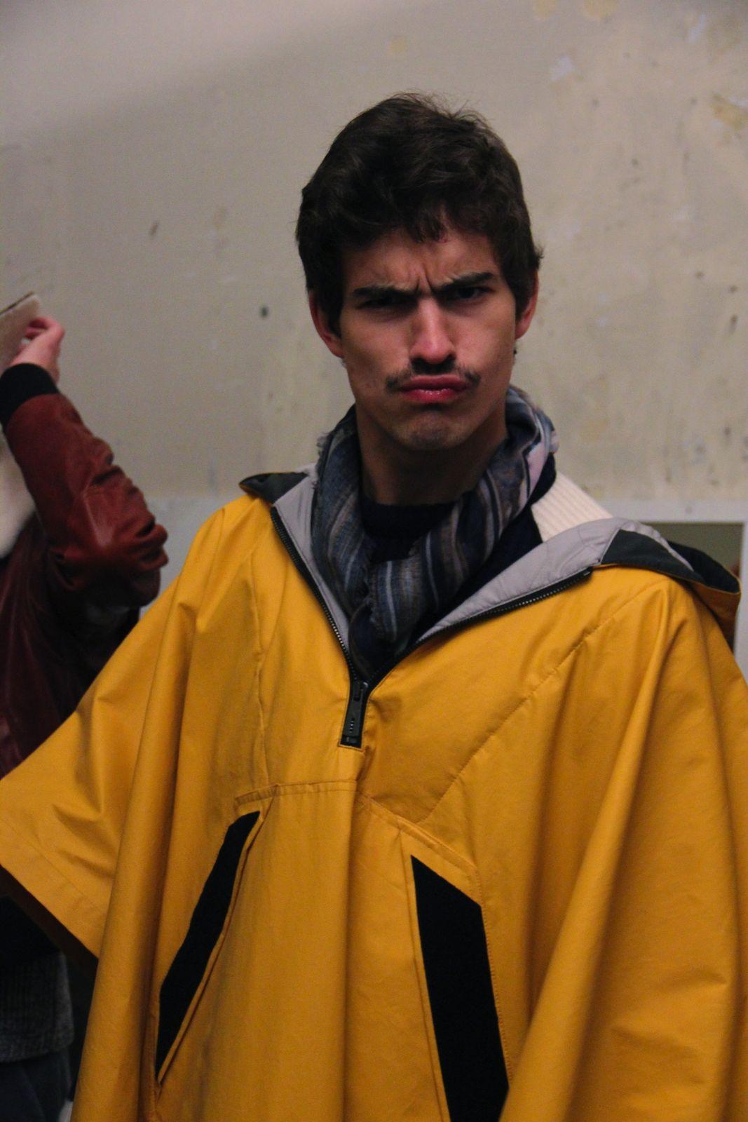 Andrea Pompilio Backstage Pitti Immagine Uomo