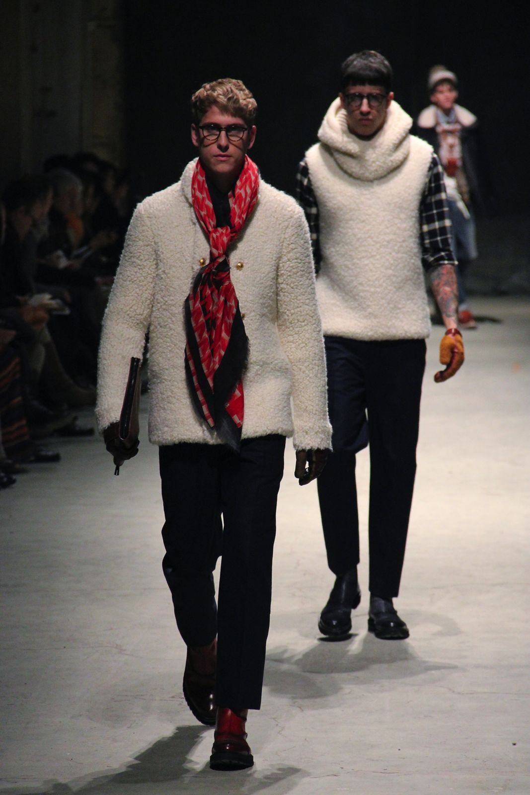 Andrea Pompilio Men Collection Fall Winter 2012-13 Pitti Immagine Uomo