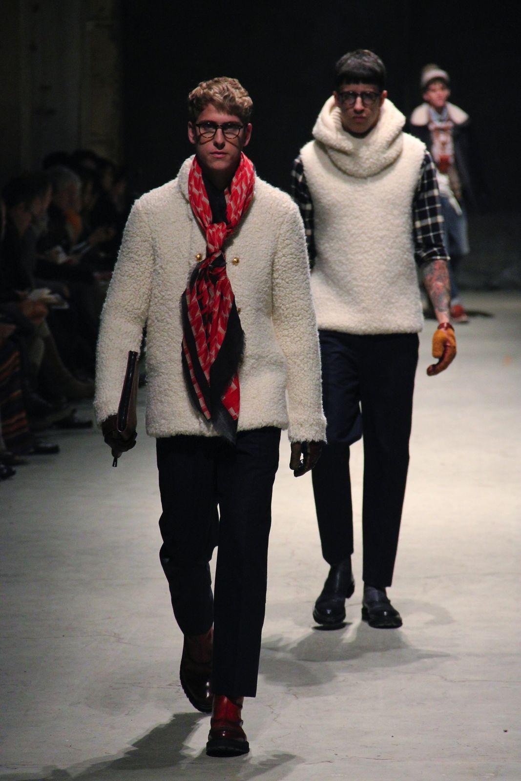 Andrea Pompilio Men Collection Fall Winter 2012-13 Pitti Immagine Uomo