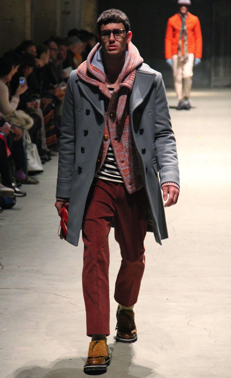 Andrea Pompilio Men's Collection Fall Winter 2012-13