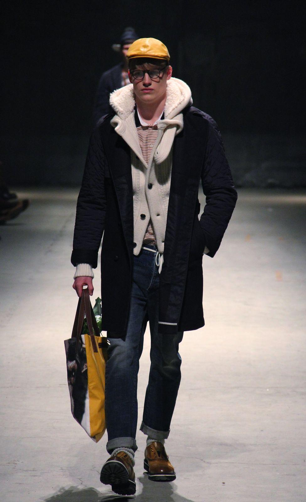 Andrea Pompilio Men's Collection Fall Winter 2012-2013