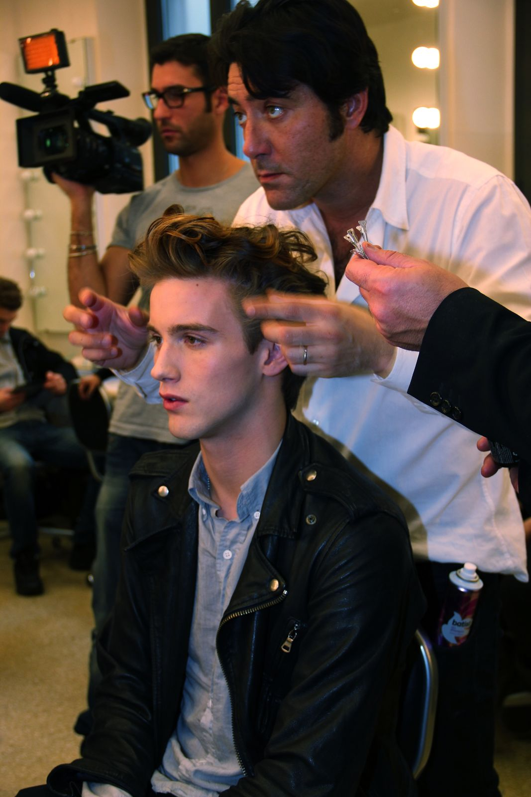 Backstage Iceberg Milano Fashion Week