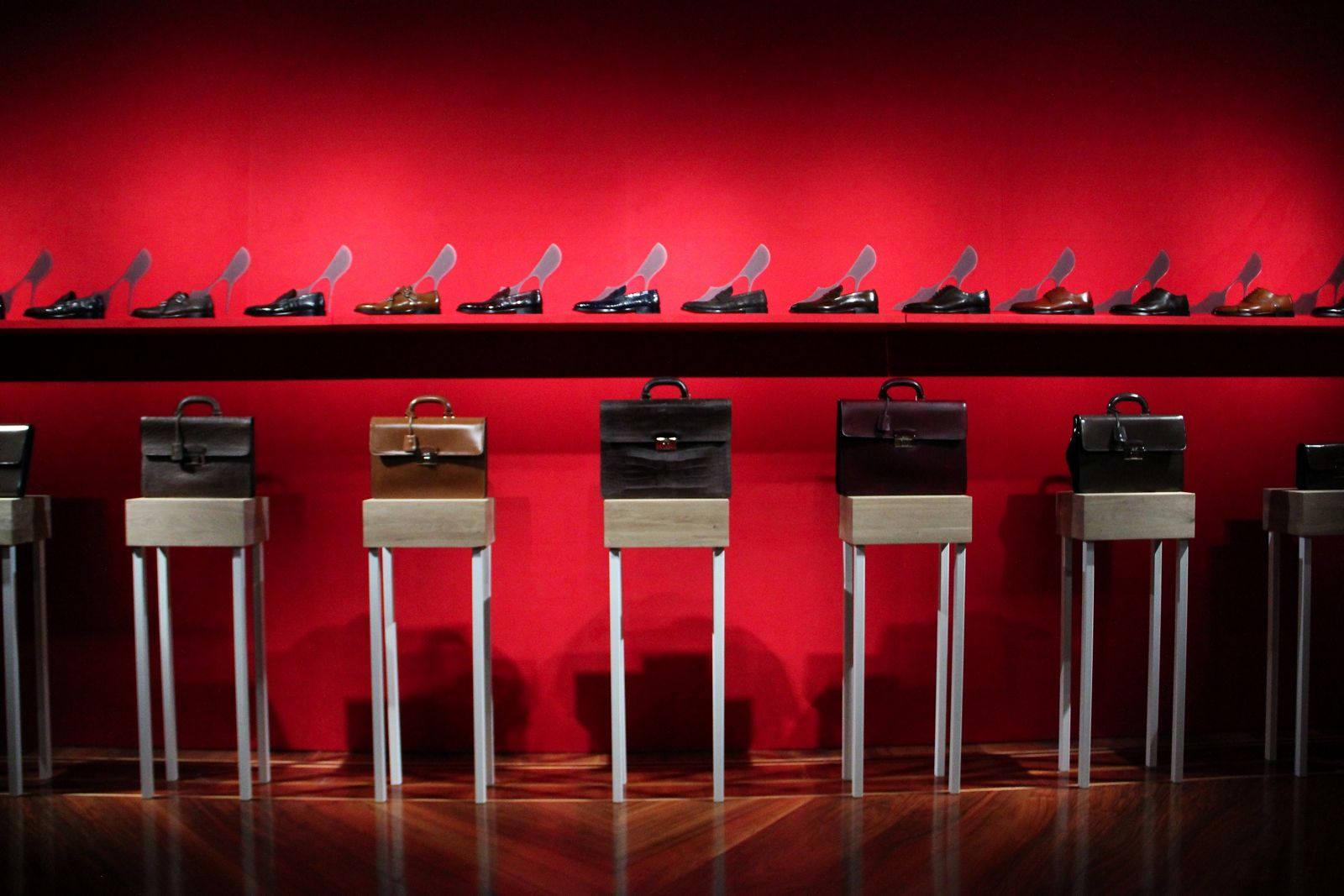 Bally FW 2012 Milano Fashion Week