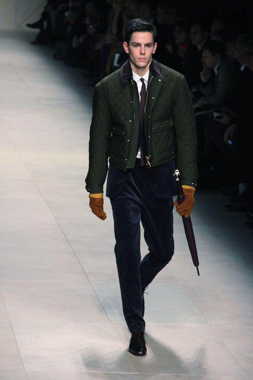 Burberry Prorsum Fall Winter 2012 Men Milano Fashion Week