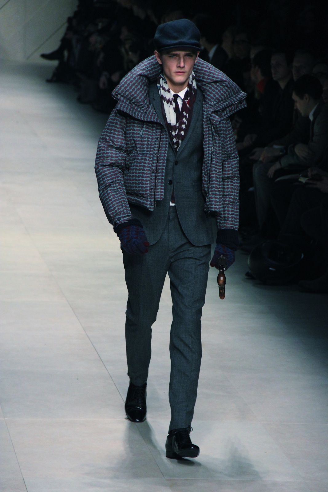 Burberry Prorsum Men's Collection Fall Winter 2012 Milano Fashion Week