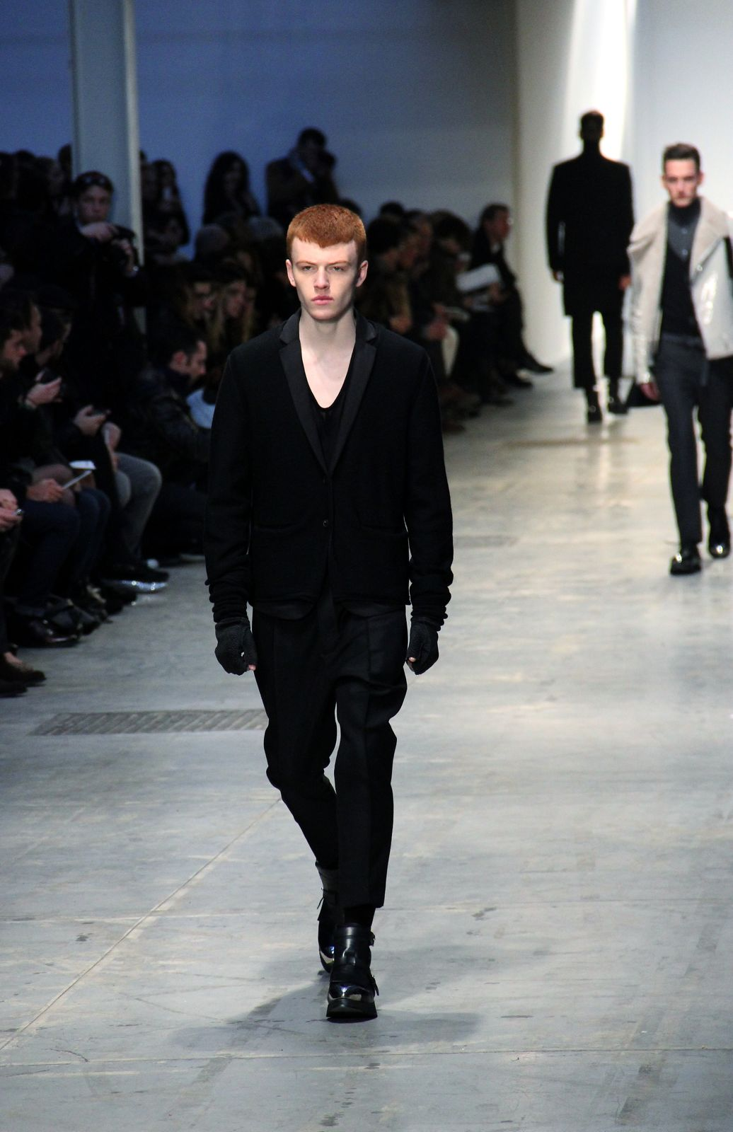 Catwalk Costume National Homme Fall Winter 2012-13 Men Fashion Show