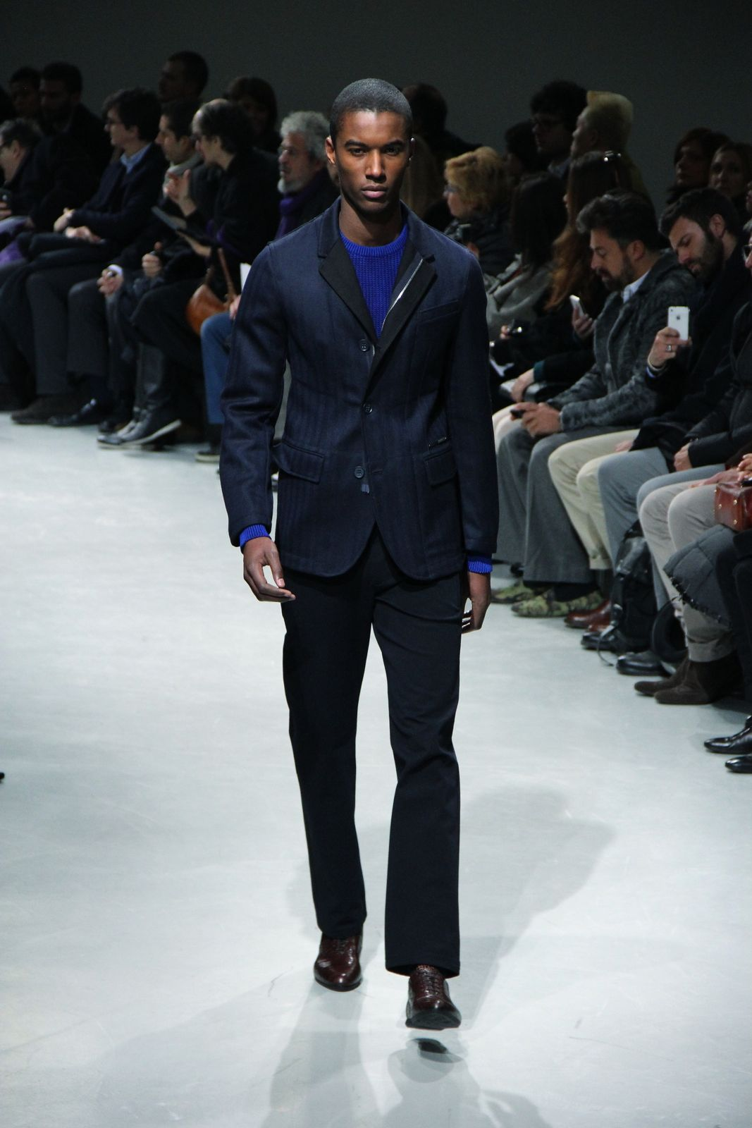 Catwalk Dirk Bikkembergs Fall Winter 2012 Men Fashion Show
