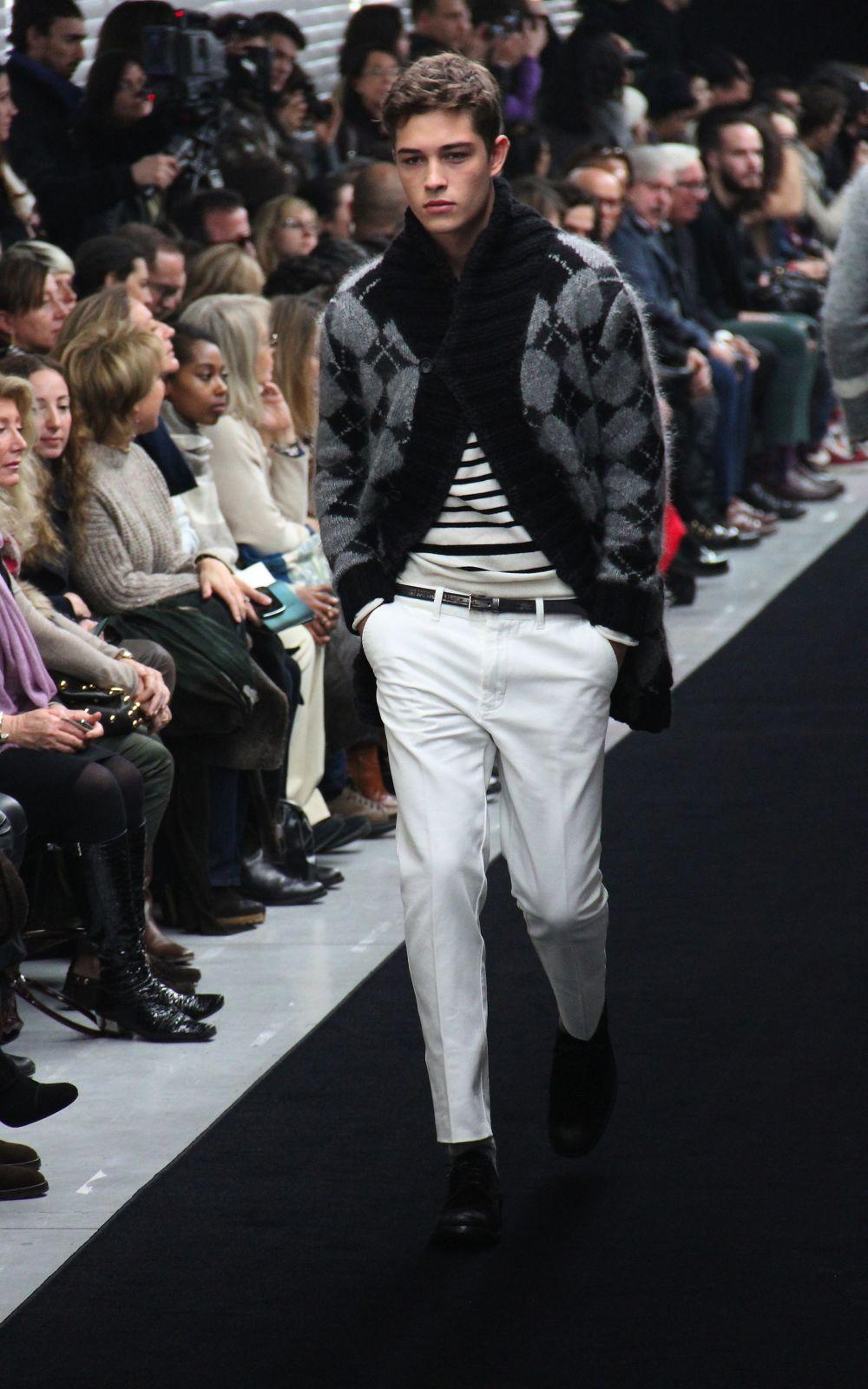 Catwalk Ermanno Scervino Fall Winter 2012-13 Men Fashion Show