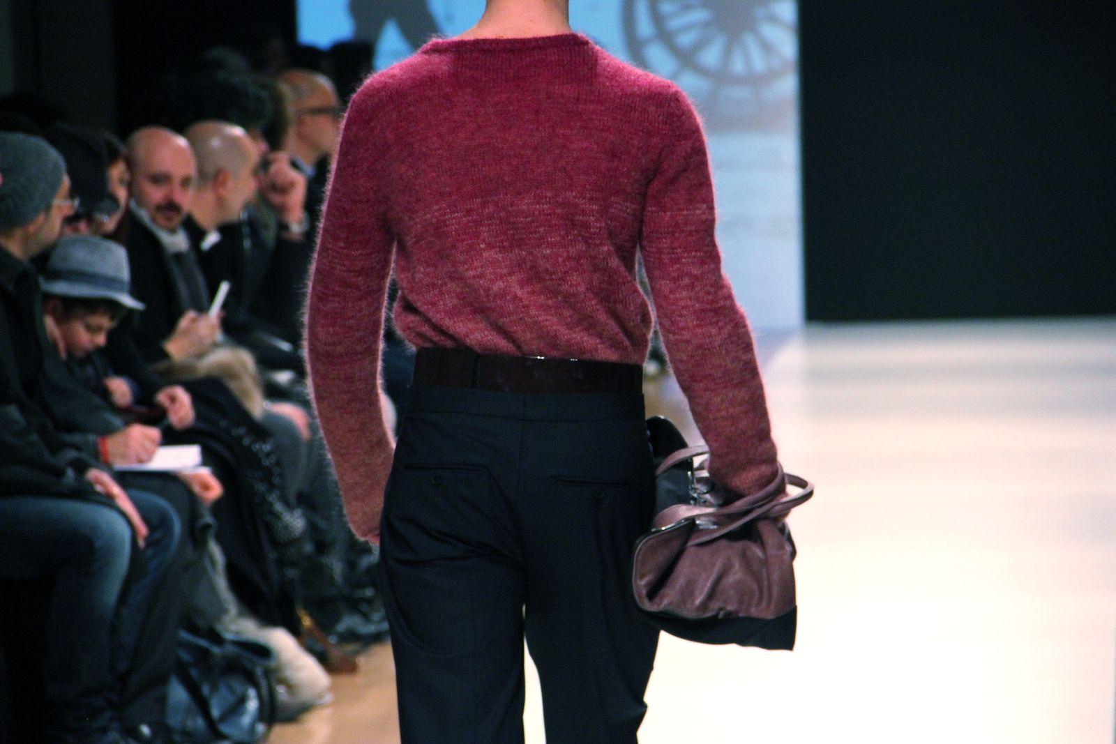 Catwalk Gazzarrini Fall Winter 2012-13 Men Fashion Show