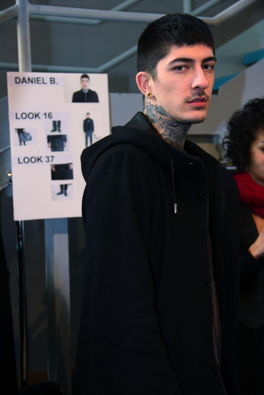 Costume National Homme Backstage Milano Fashion Week