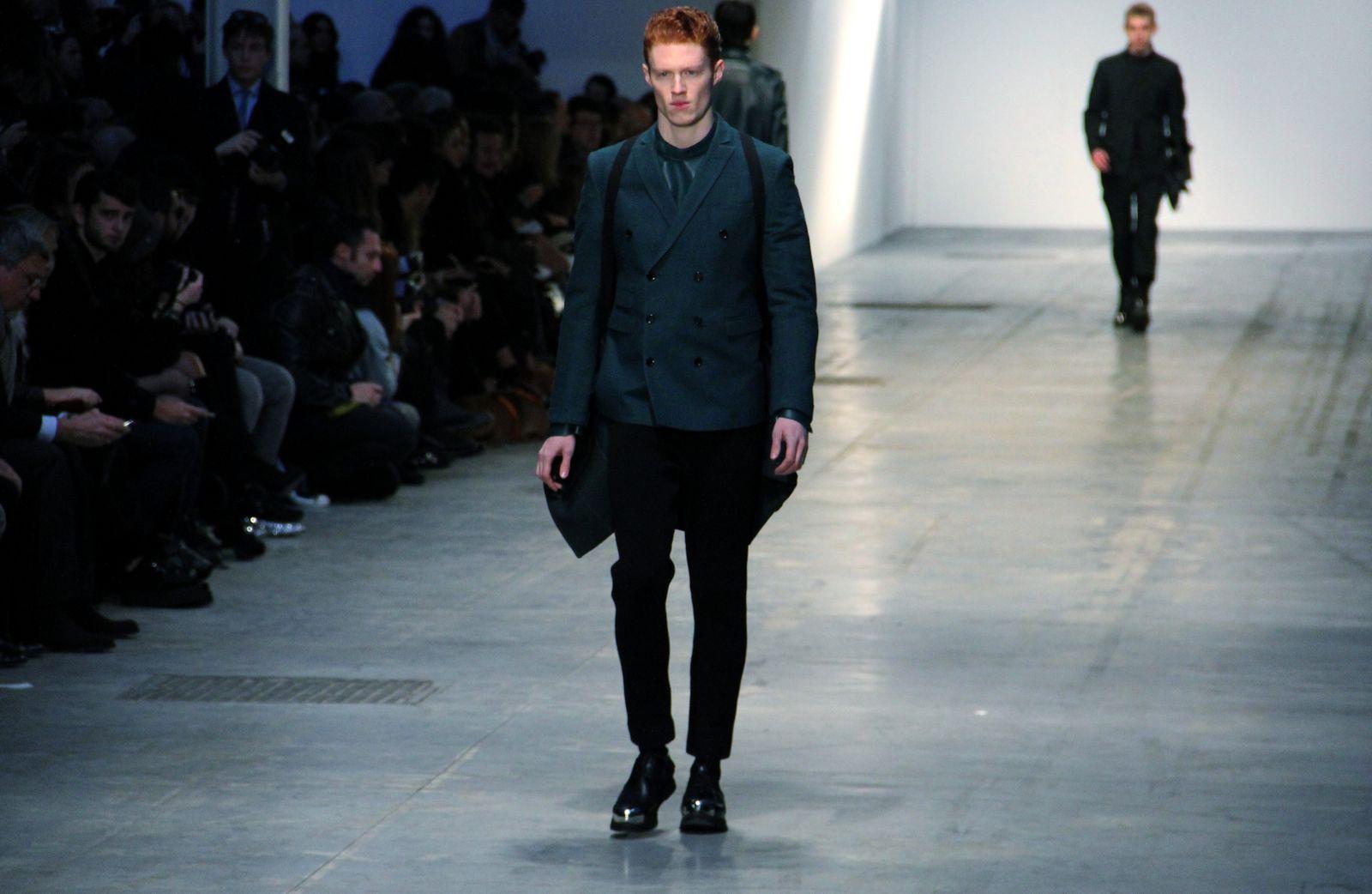 Costume National Homme Fall Winter 2012-13 Men Milano Fashion Week