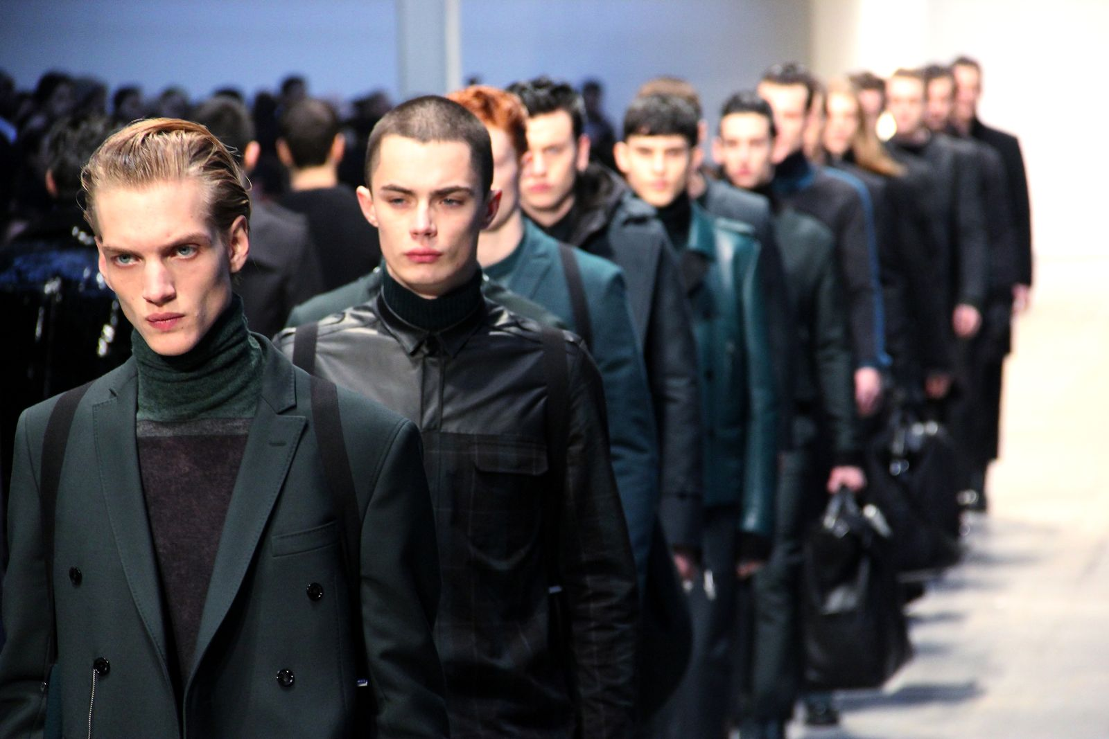 Costume National Homme Men's Collection Fall Winter 2012-2013 Milano Fashion Week