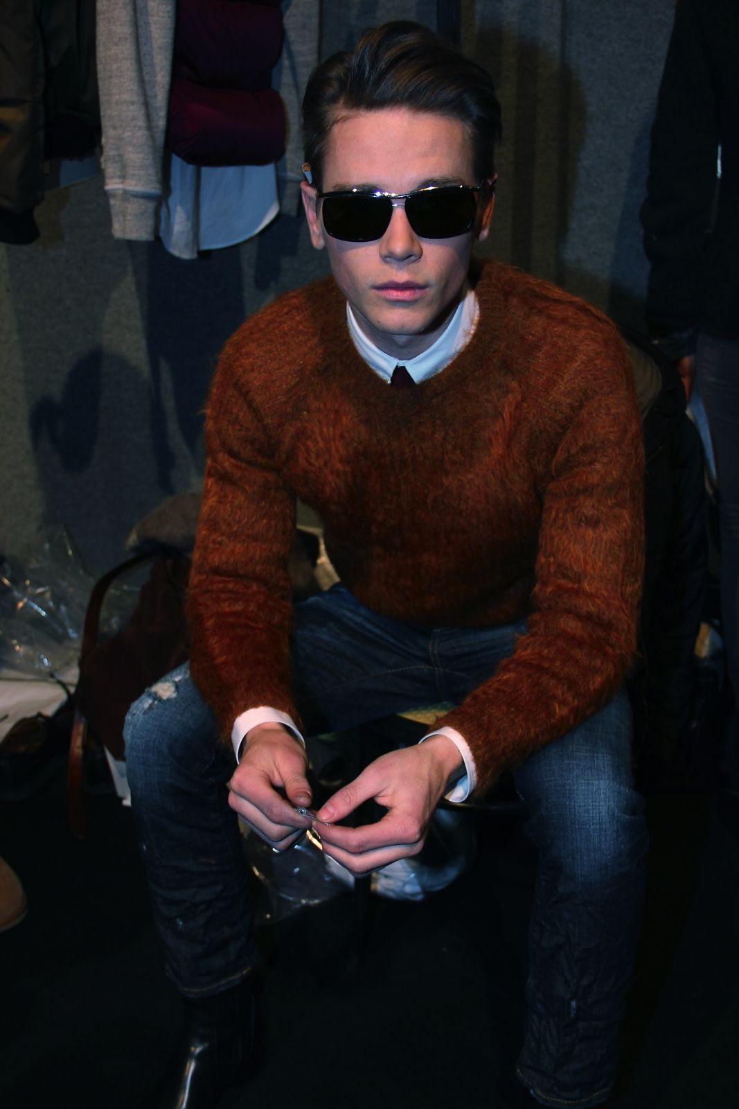 Dsquared2 Backstage Milano Fashion Week