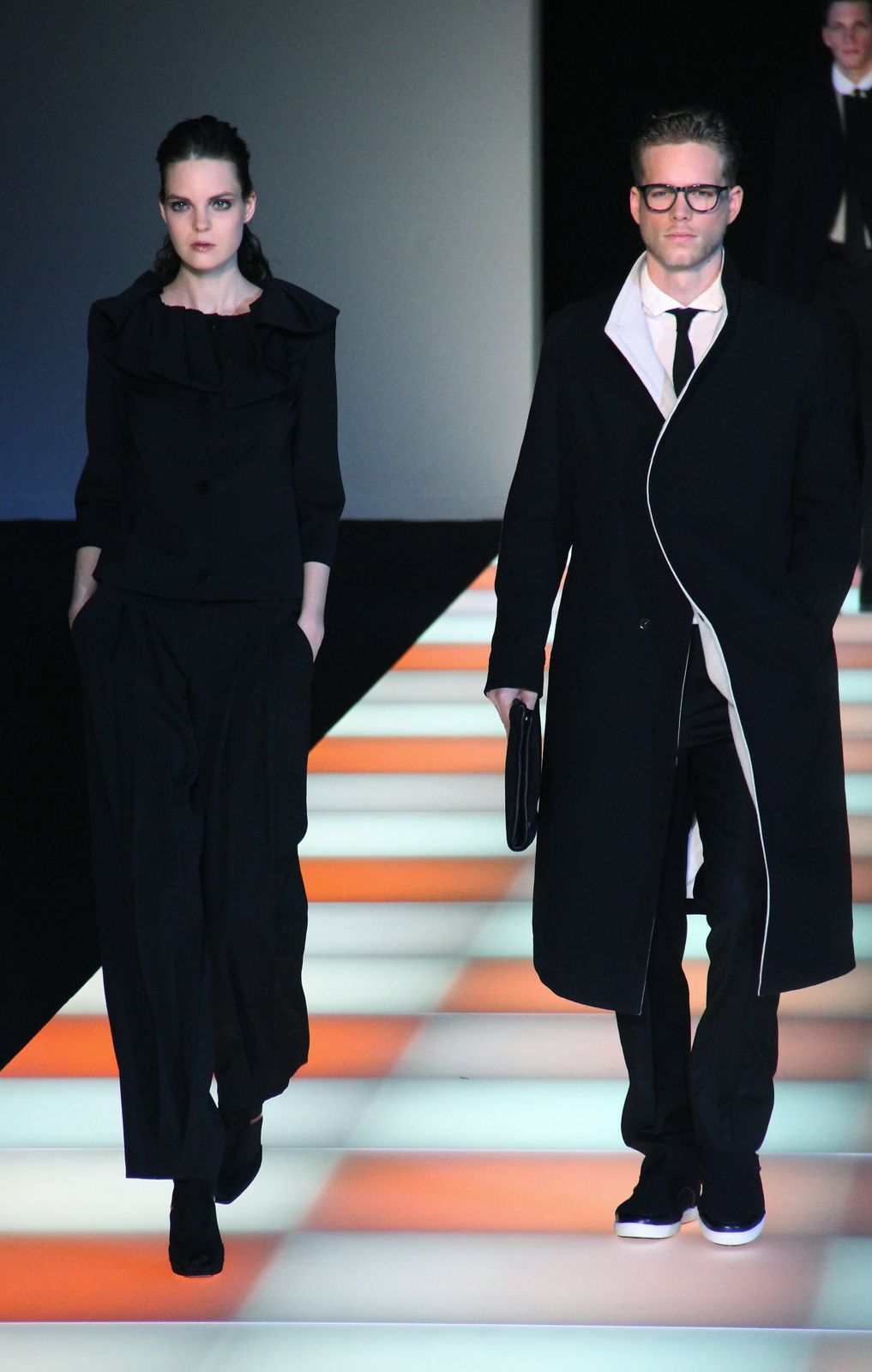 Emporio Armani FW 2012-13 Milano Fashion Week