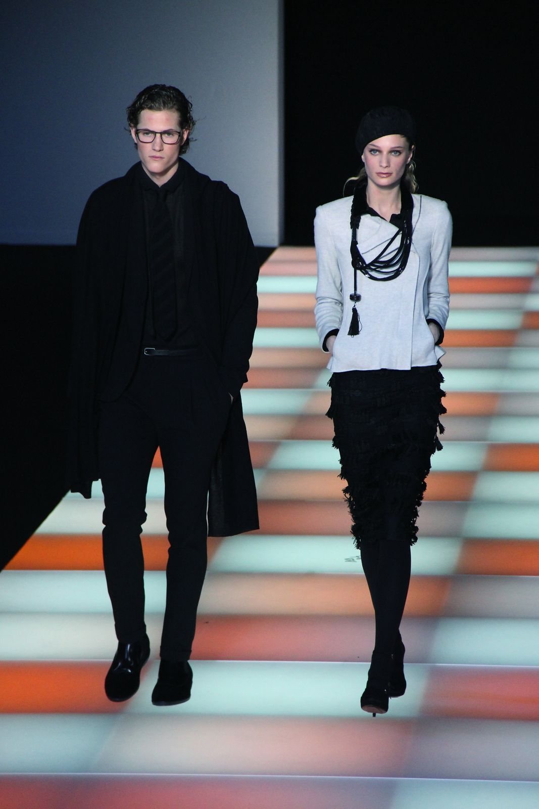 Emporio Armani FW 2012-2013 Milano Fashion Week