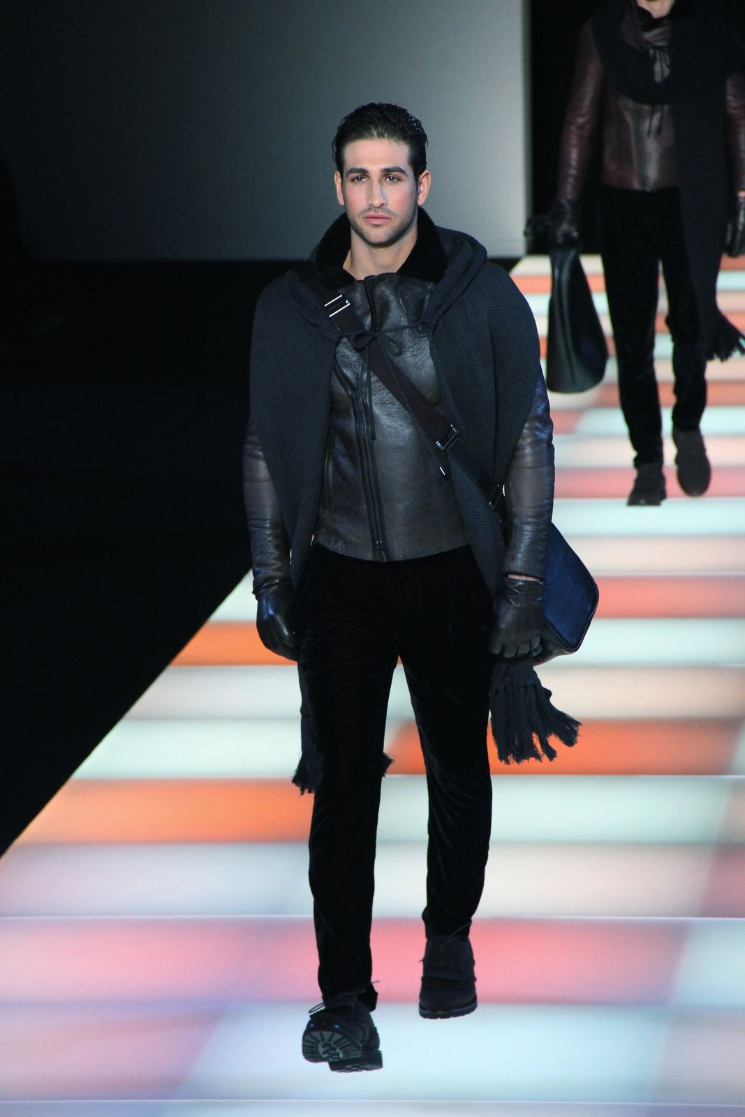 Emporio Armani Fall Winter 2012-13 Men's Collection Milano Fashion Week